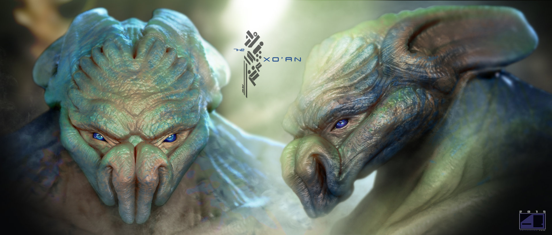 "Title: ""The Xo'an"" Closeup.