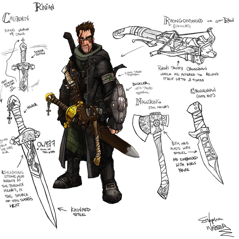 Character design for Graphic Novel