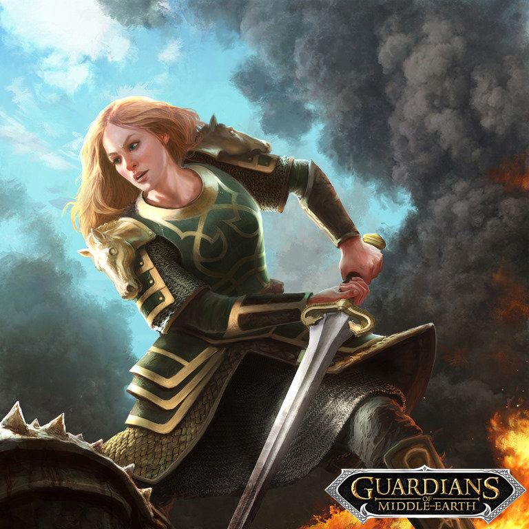 Guardians of MIddle Earth- Eowyn
