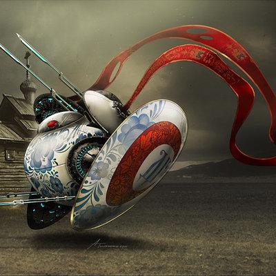 Andrey tkachenko matreshka fly 001