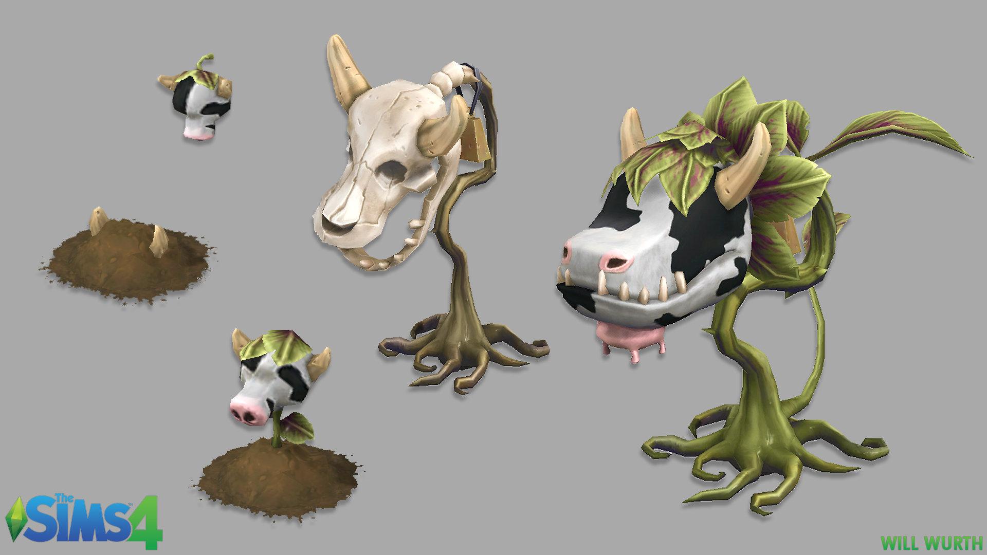 Will wurth ts4 cowplant