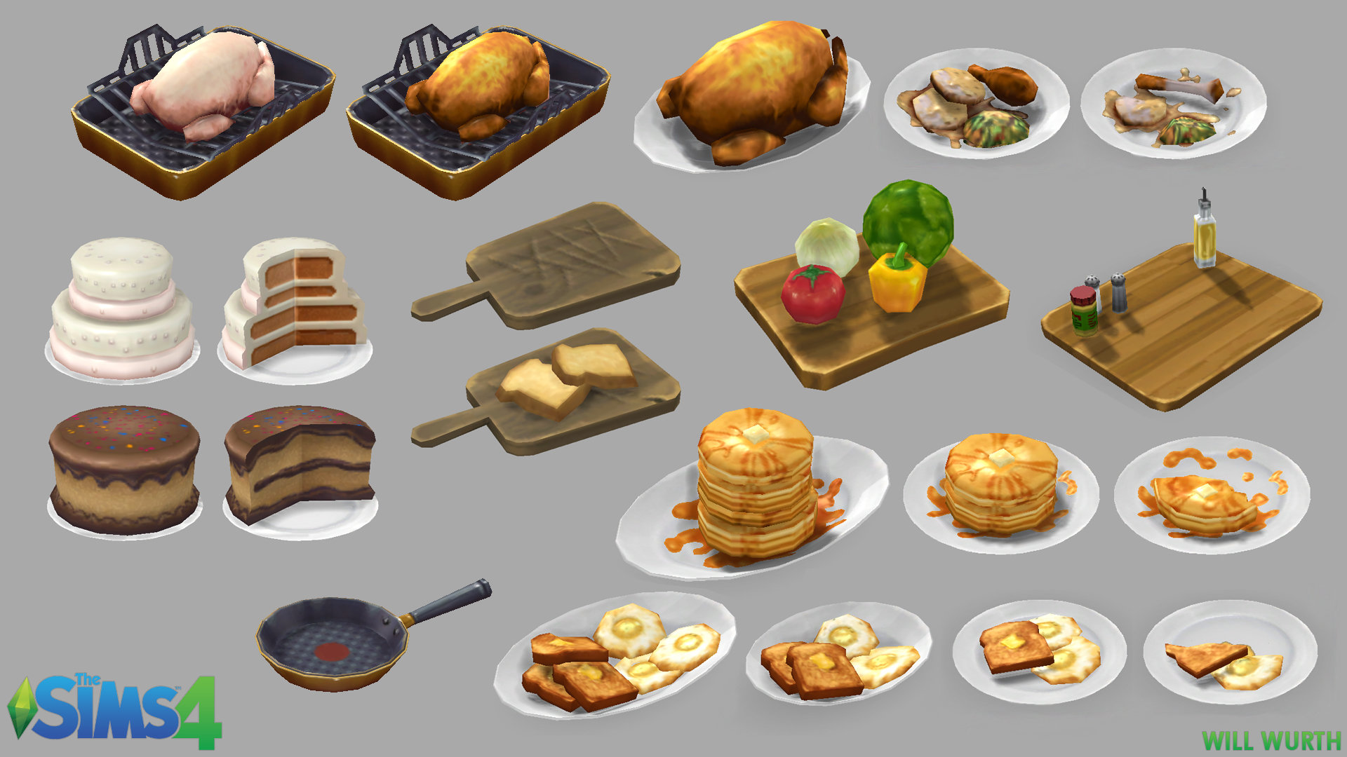Will Wurth 3d Artist The Sims 4 Object Art
