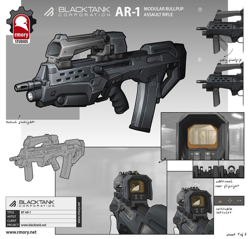 Blacktank AR-1 - rmory studios