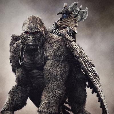 Alterton bizarre drattar gorilla5