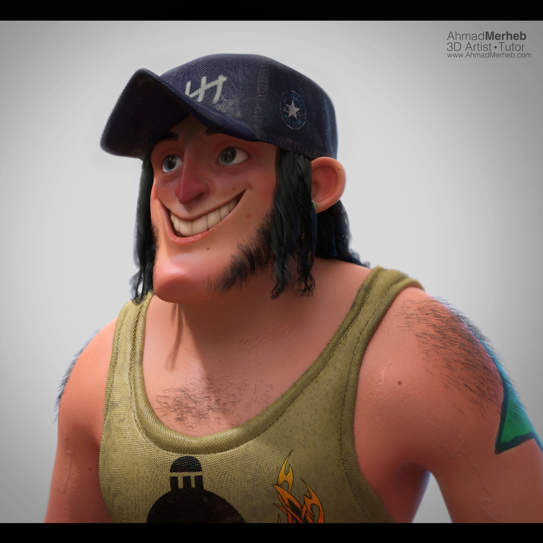 3d Character render