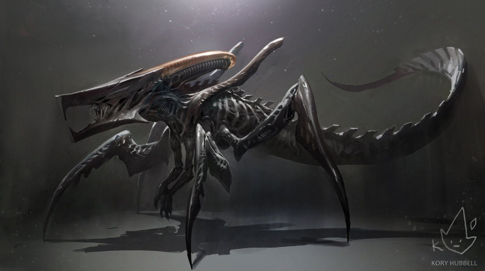 Xenomorph + Starship Troopers Warrior Bug