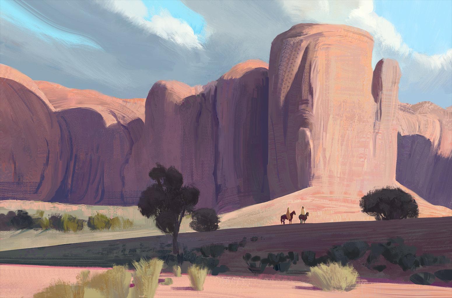 Hugo puzzuoli desert mountains hpuzzuoli