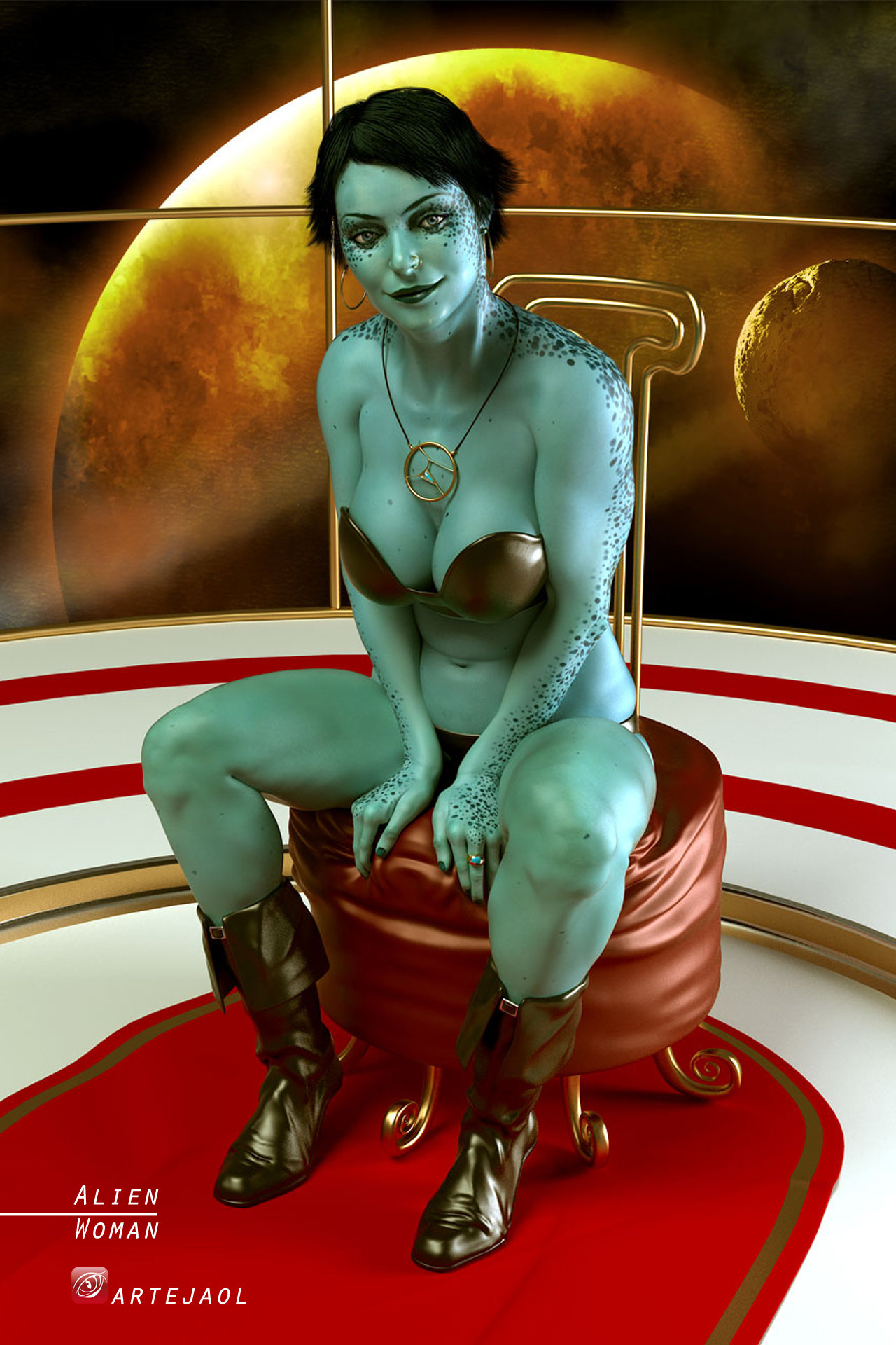 Aliens and women hentia sensual girl
