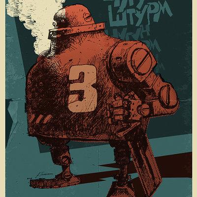 Andrey tkachenko chugun sturm poster