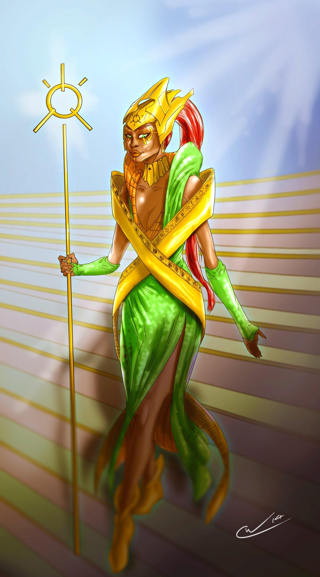 William calleja high priestess of the shrine by qualinwraith d8b7ln7
