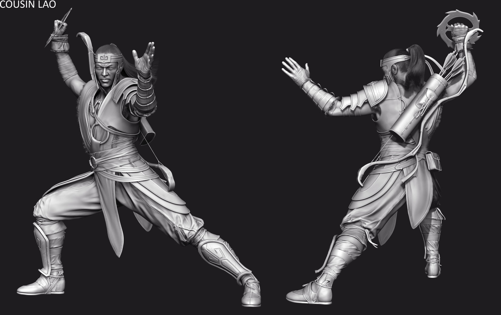 Posing these characters gives them more life and I enjoy the process a lot.