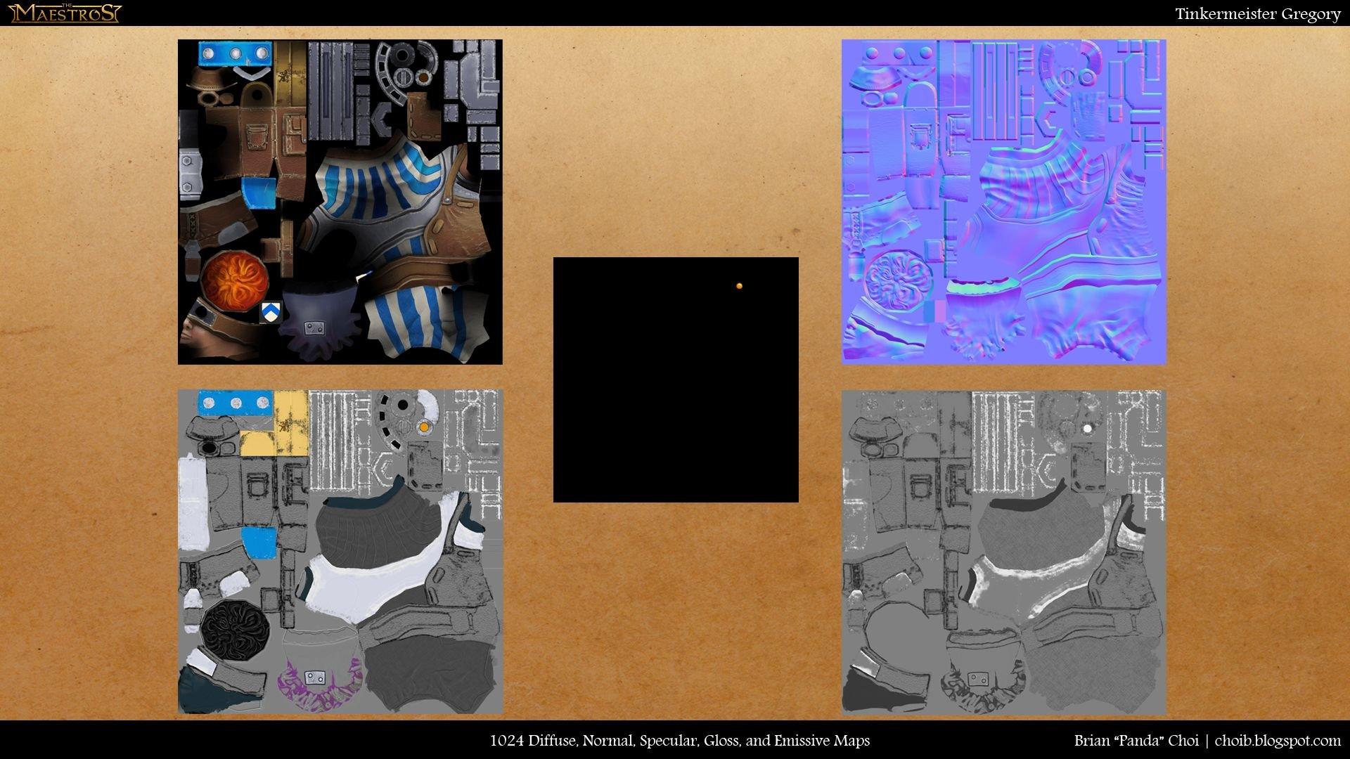 Brian choi tinkermeistergregory texturemaps
