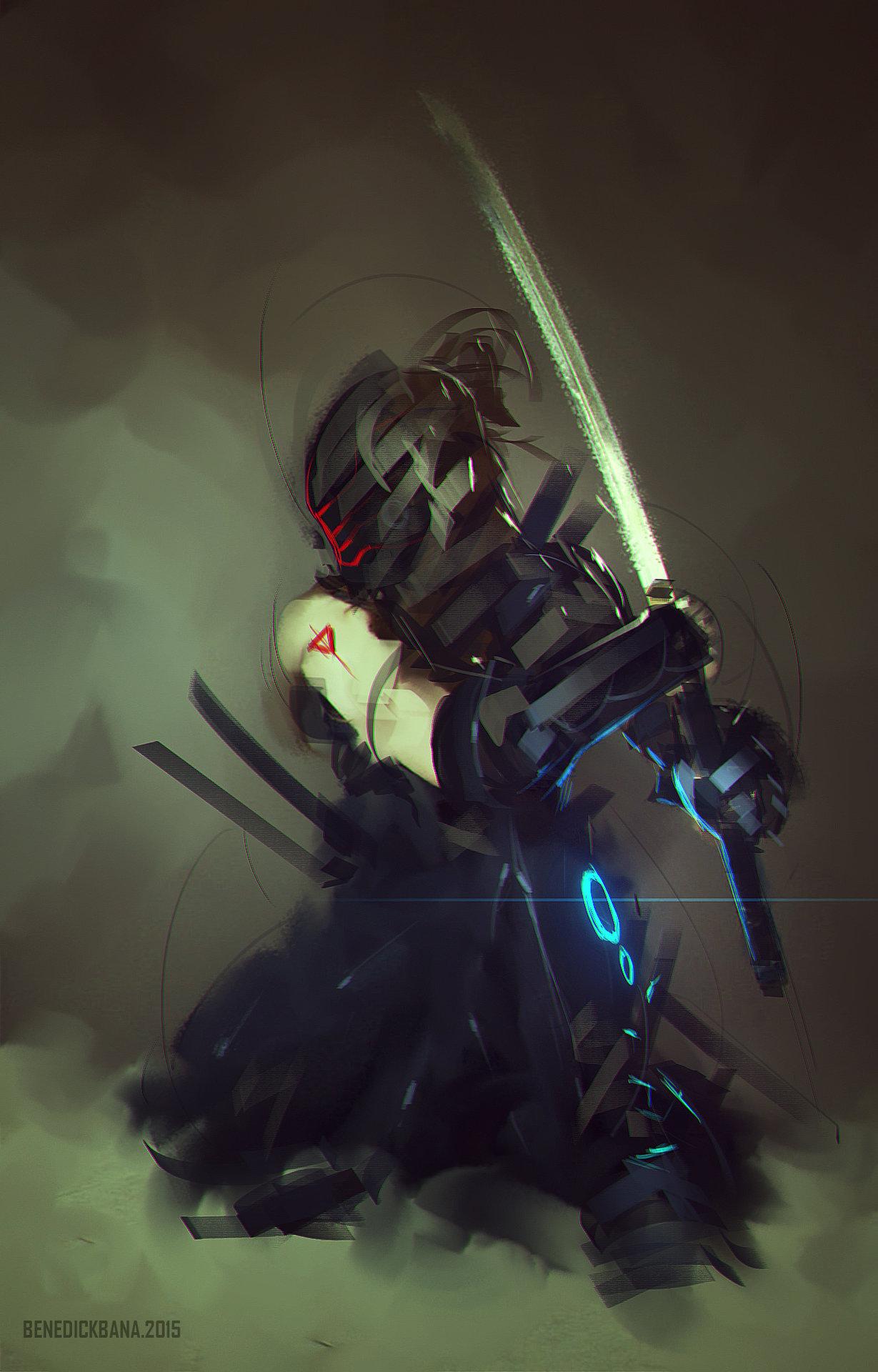 Benedick bana robot ninja