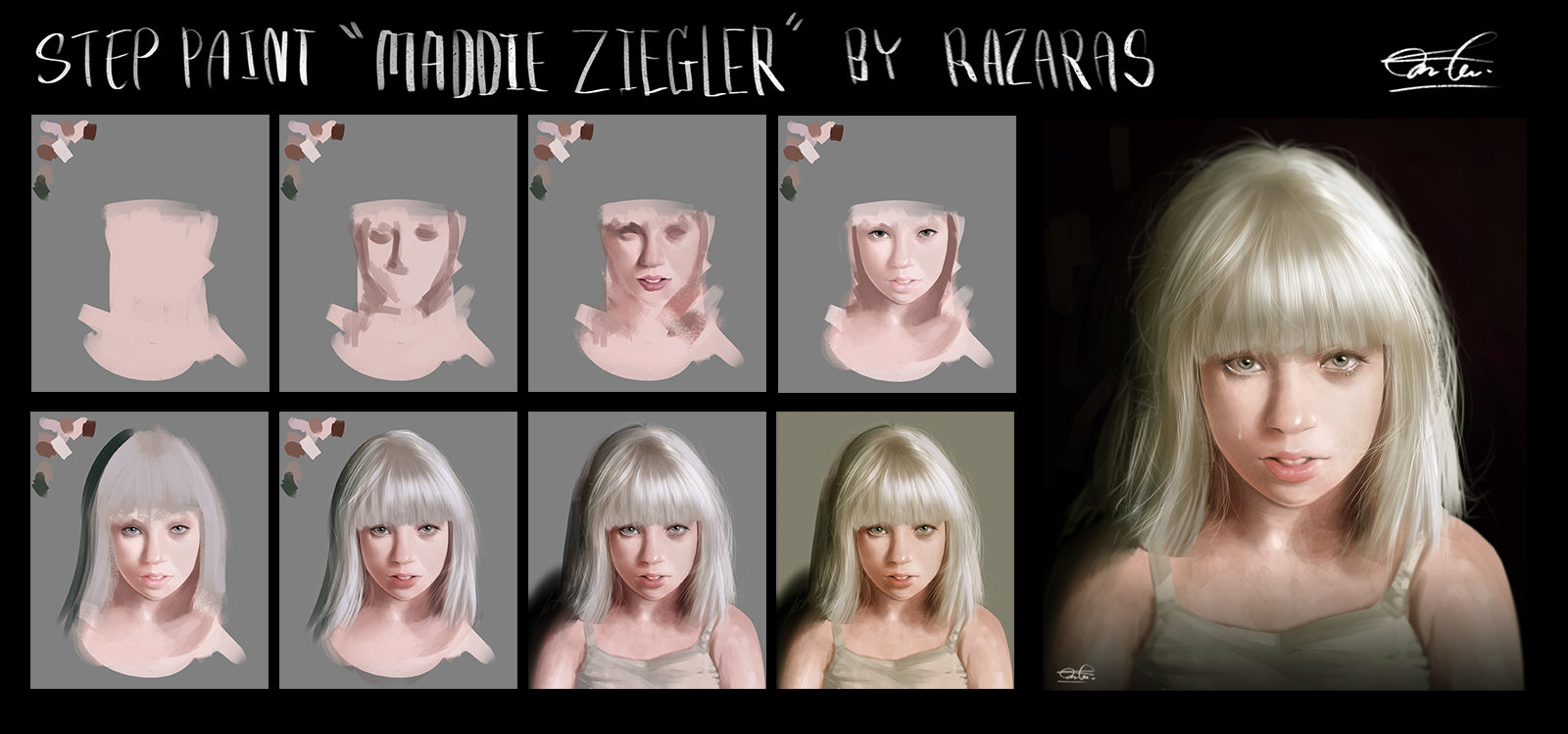 Kittichai reaungchaichan how to paint maddie ziegle 2