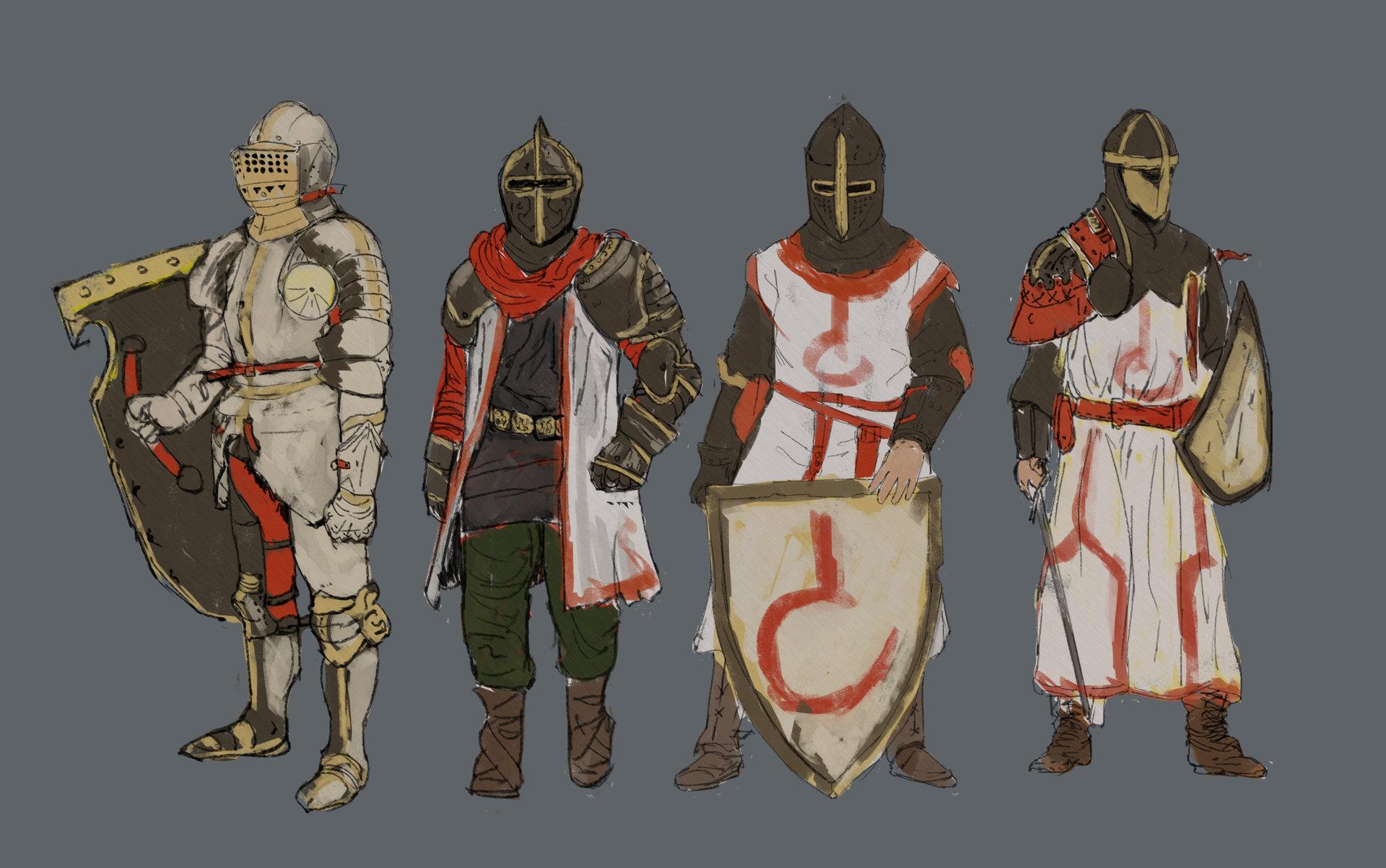 Konrad langa knights sketchez