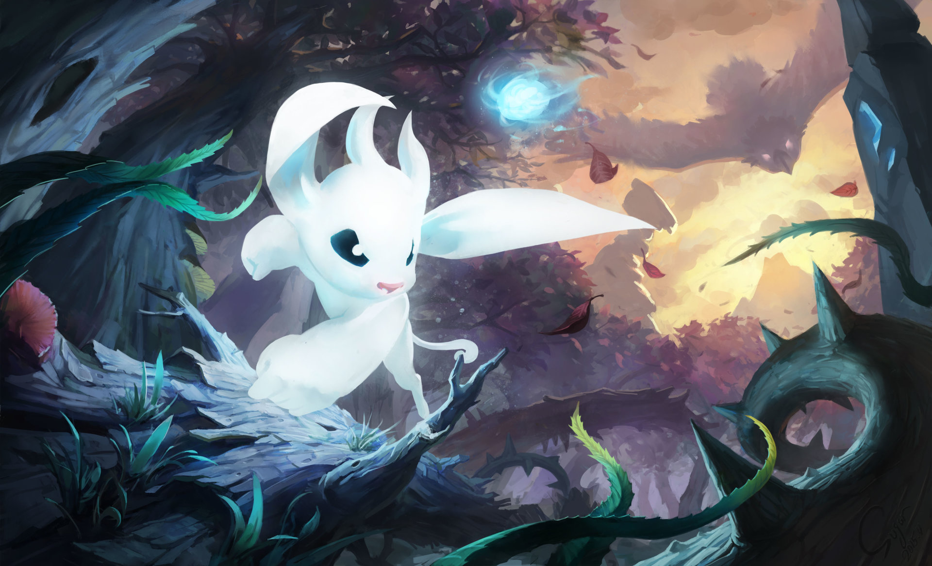 Artstation Fan Art Ori And The Blind Forest Xiaofei Syrup