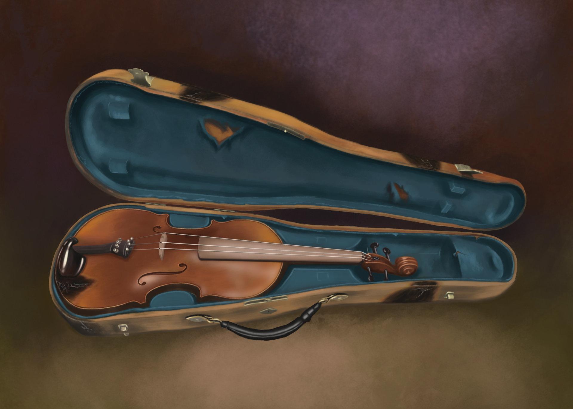 Daniel hidalgo vicente dibujo 1 violin