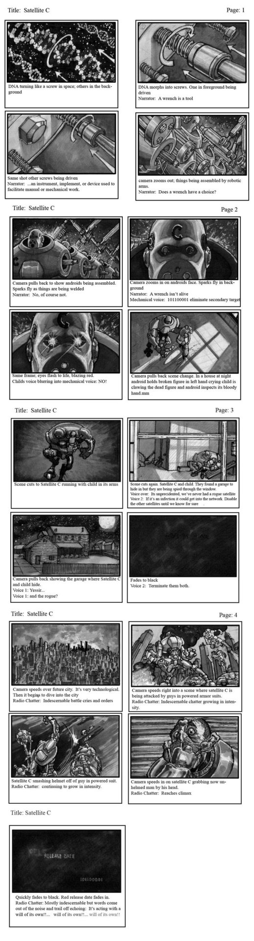 Jason borne satelitecstoryboard