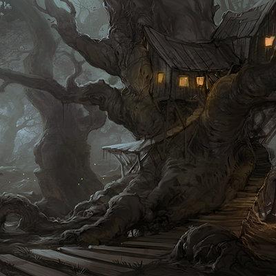 Jason borne treehouse