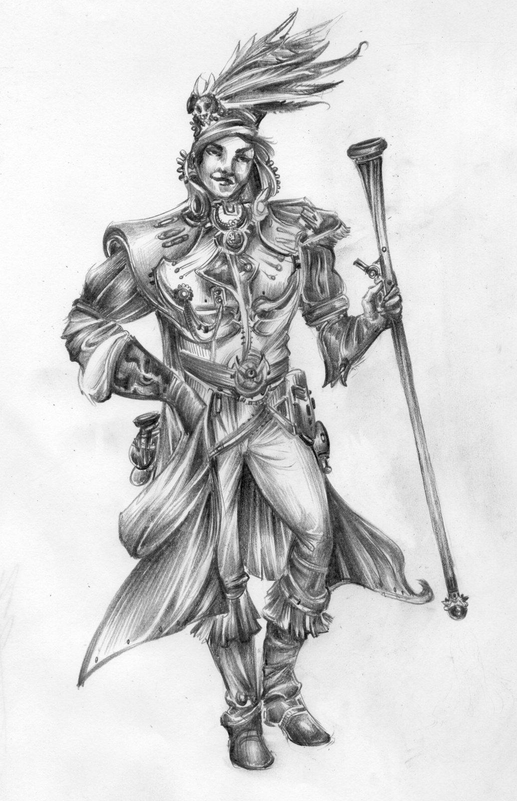 Sketchbook Characters (pencil)