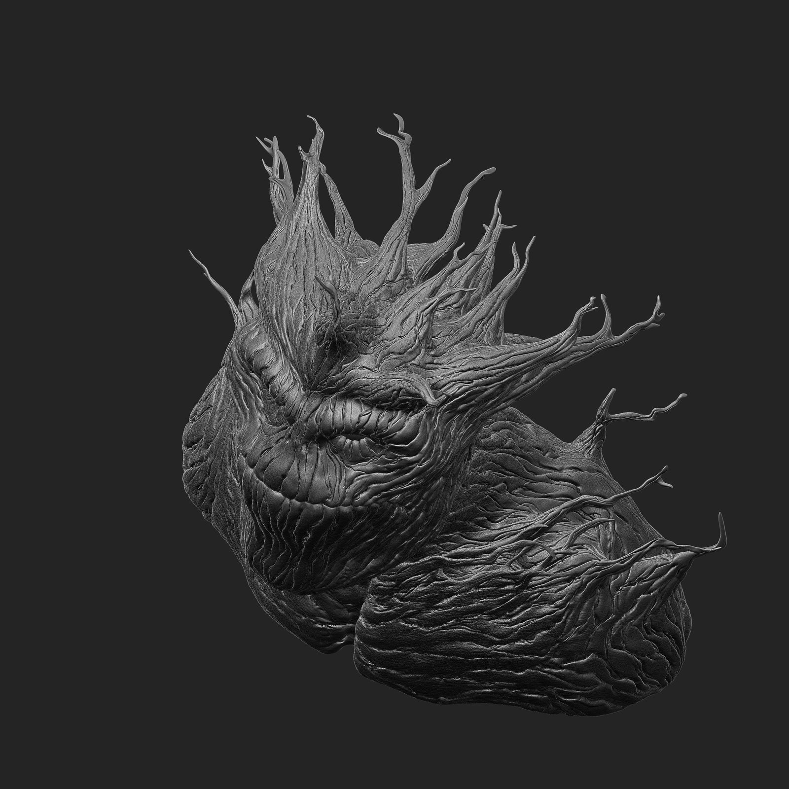 Groot Bust  (Comic Version)