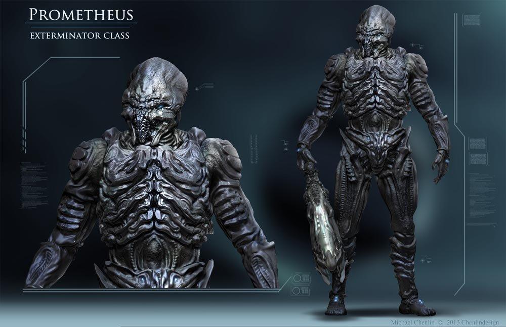 ArtStation Prometheus Exterminator Class Michael Chenlin