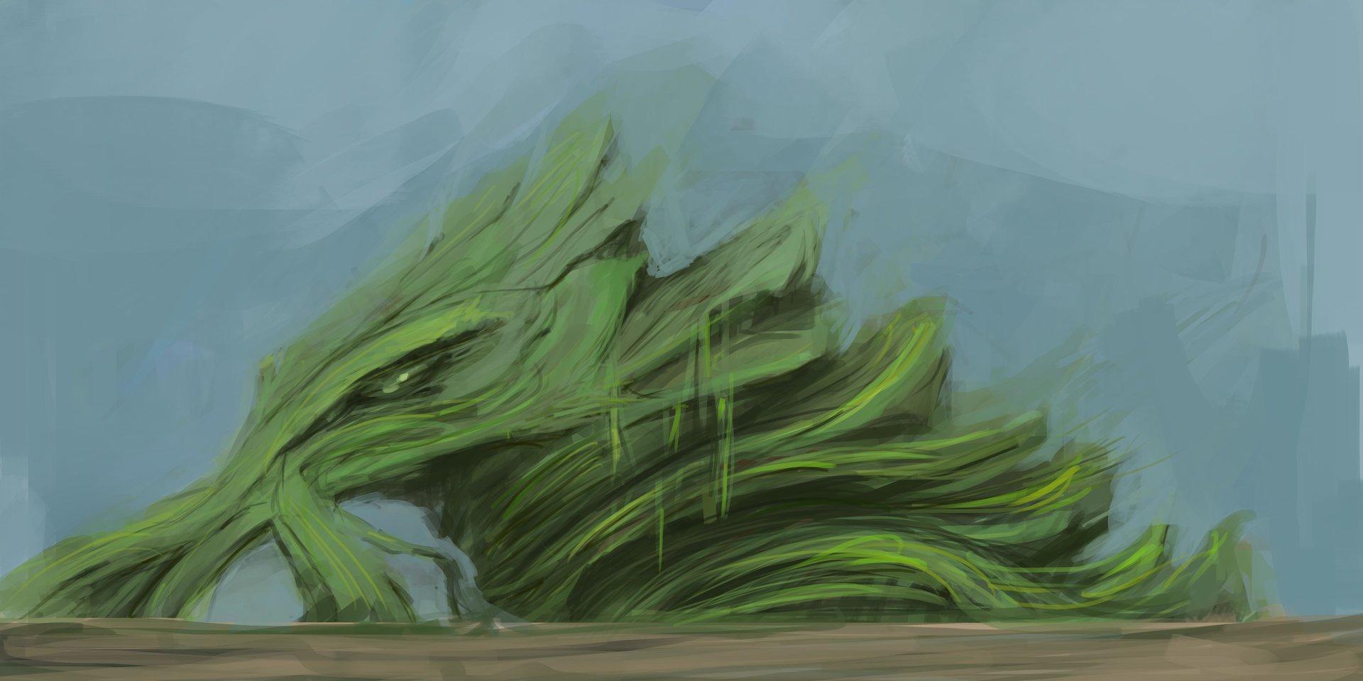Victor baeza ilustracion nature fantasy