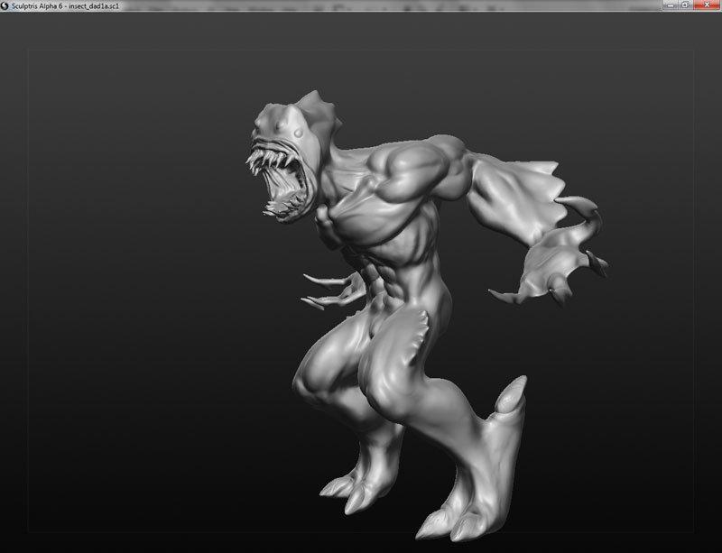 Janderson bittencourt dos santos jands monster sculptris02