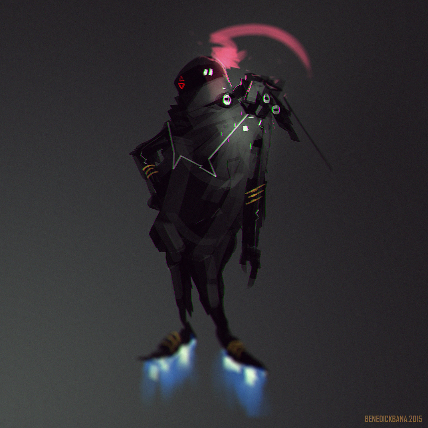 Benedick bana gravity girl
