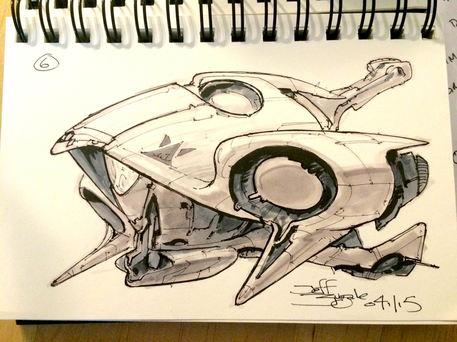 SpaceshipADay 006