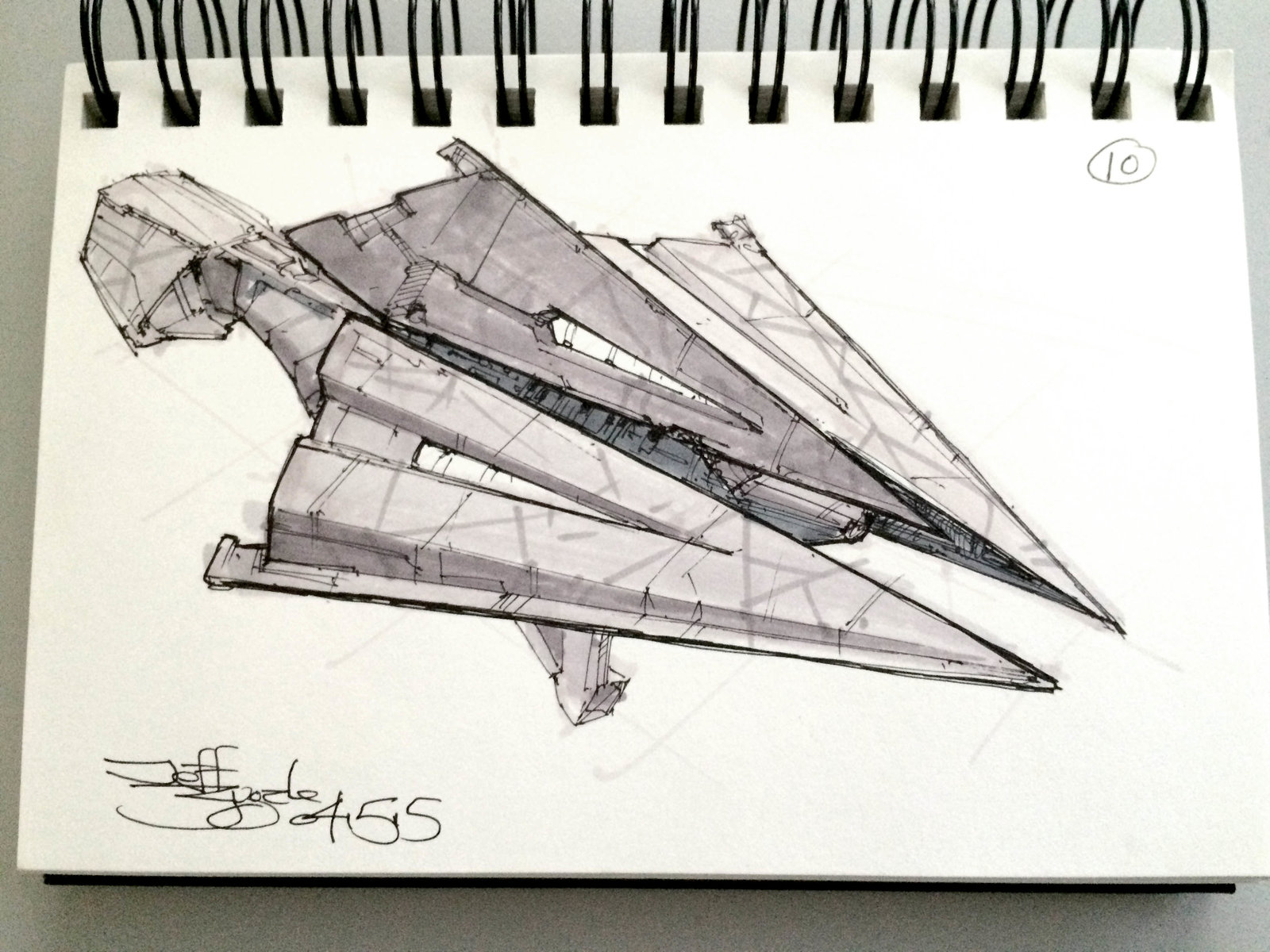 SpaceshipADay 010