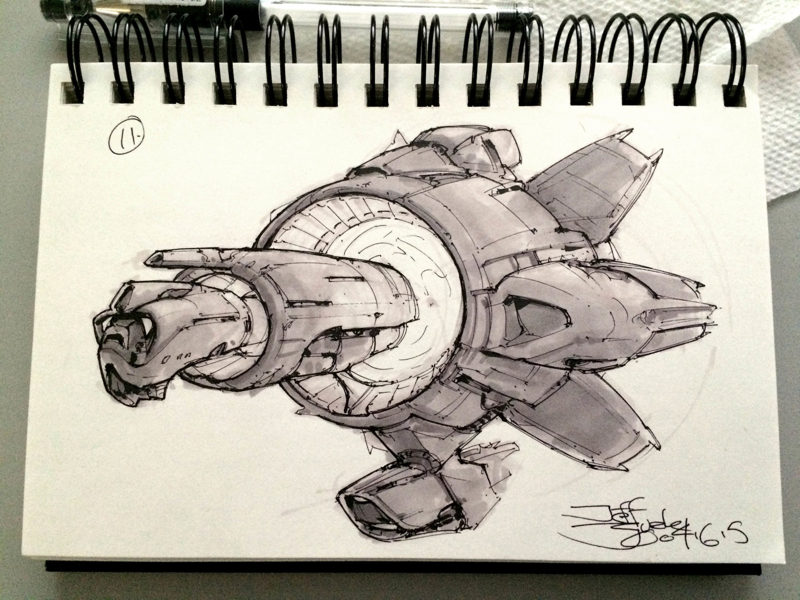 SpaceshipADay 011