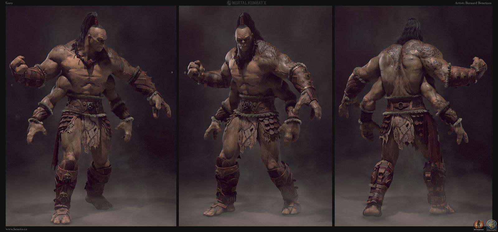goro mortal kombat movie costume