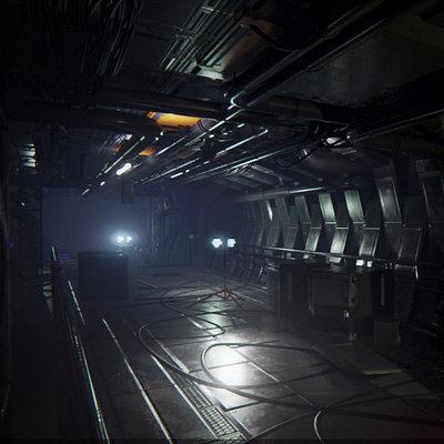 UE4 Sci-Fi Environment