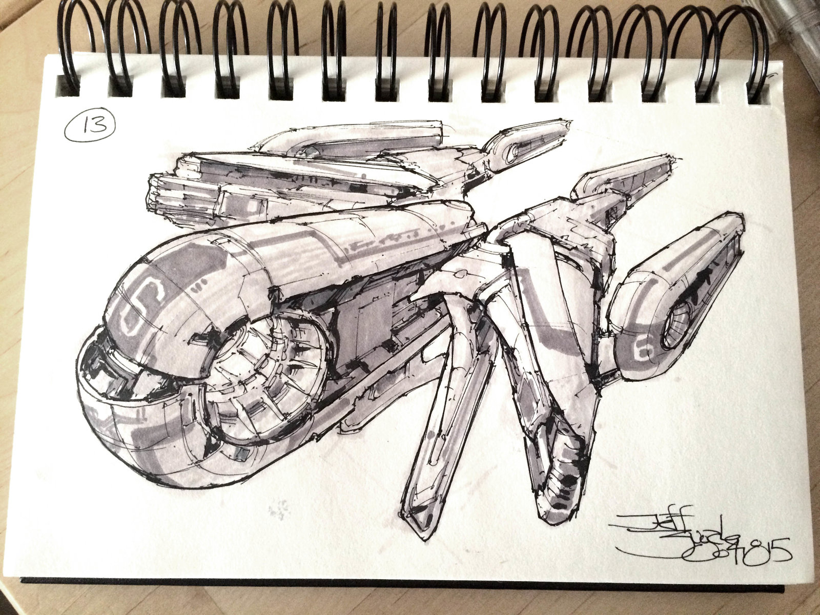 SpaceshipADay 013