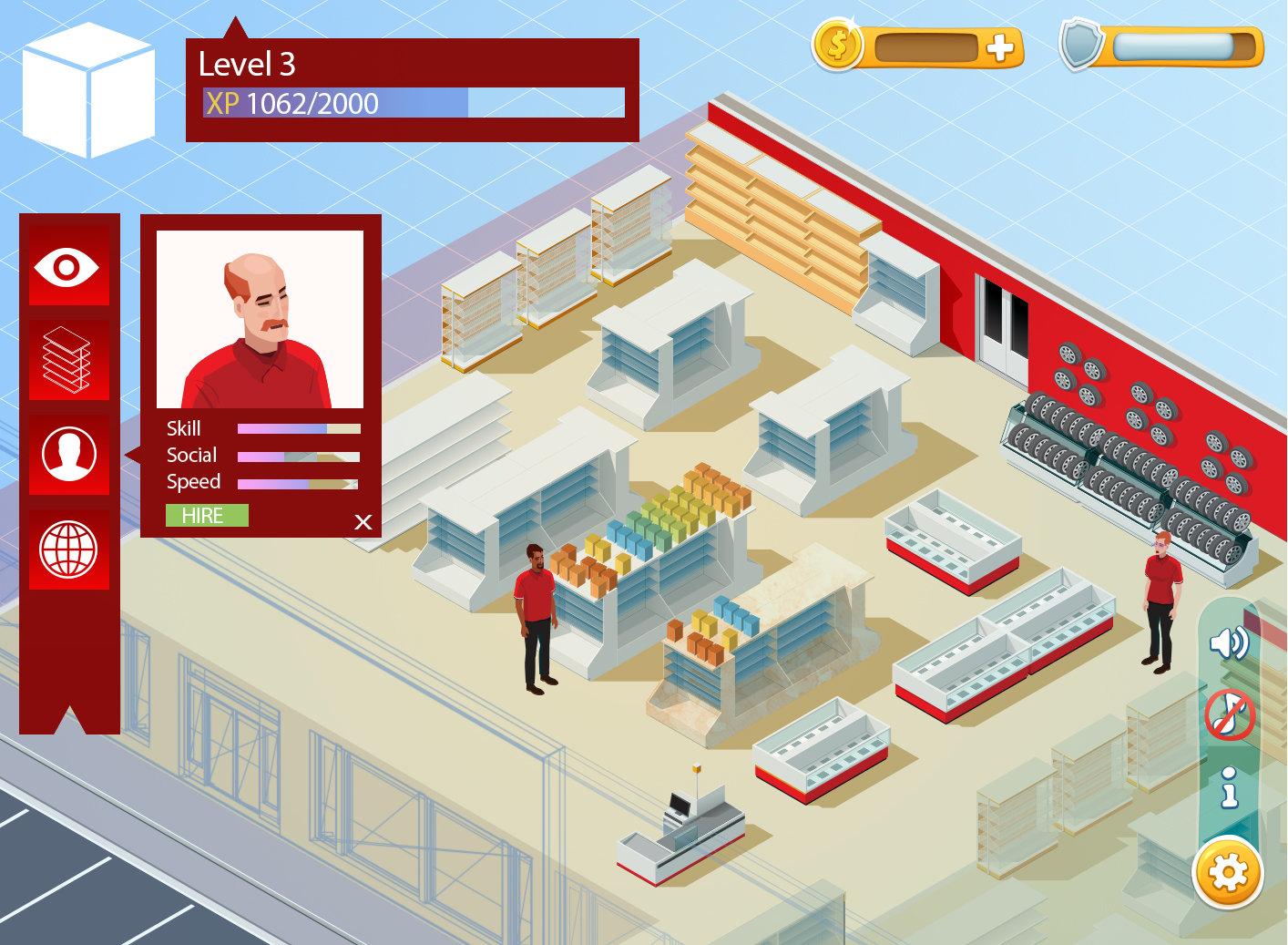 ArtStation - Canadian Tire Mobile game (2014) Art Director , Jesse Burch