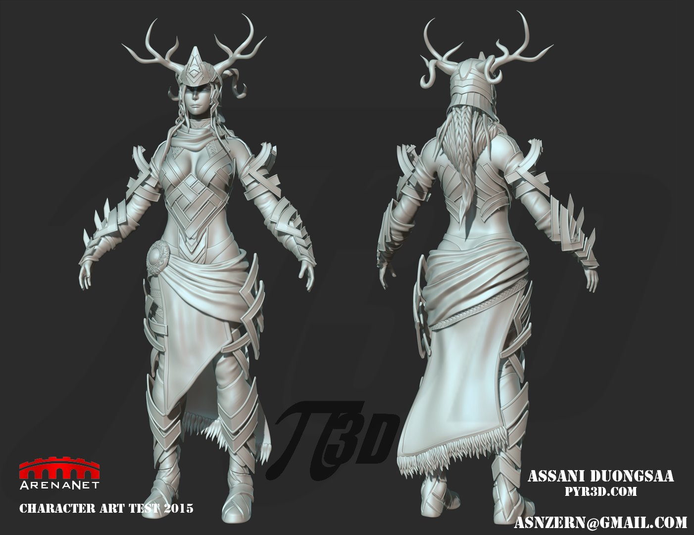 Assani duongsaa 2015 art test sculpt aduongsaa