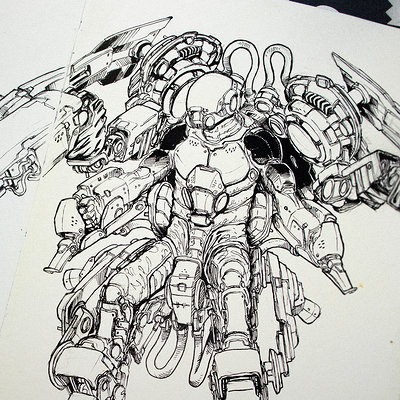 Josh matts sketch 16