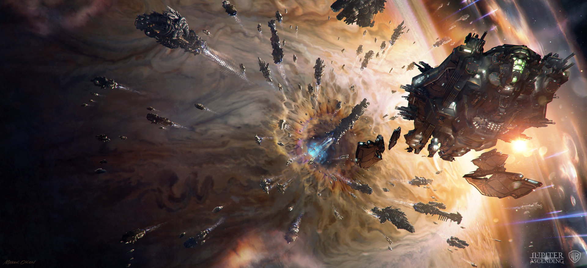 Marek okon jupiter escape web