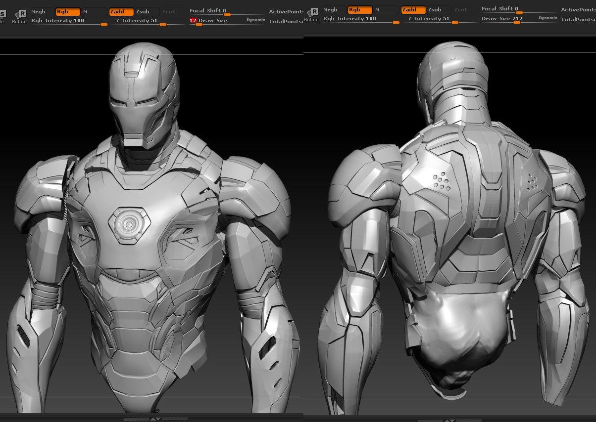 ArtStation - Iron Man : Mark 45 (Avengers age of ultron