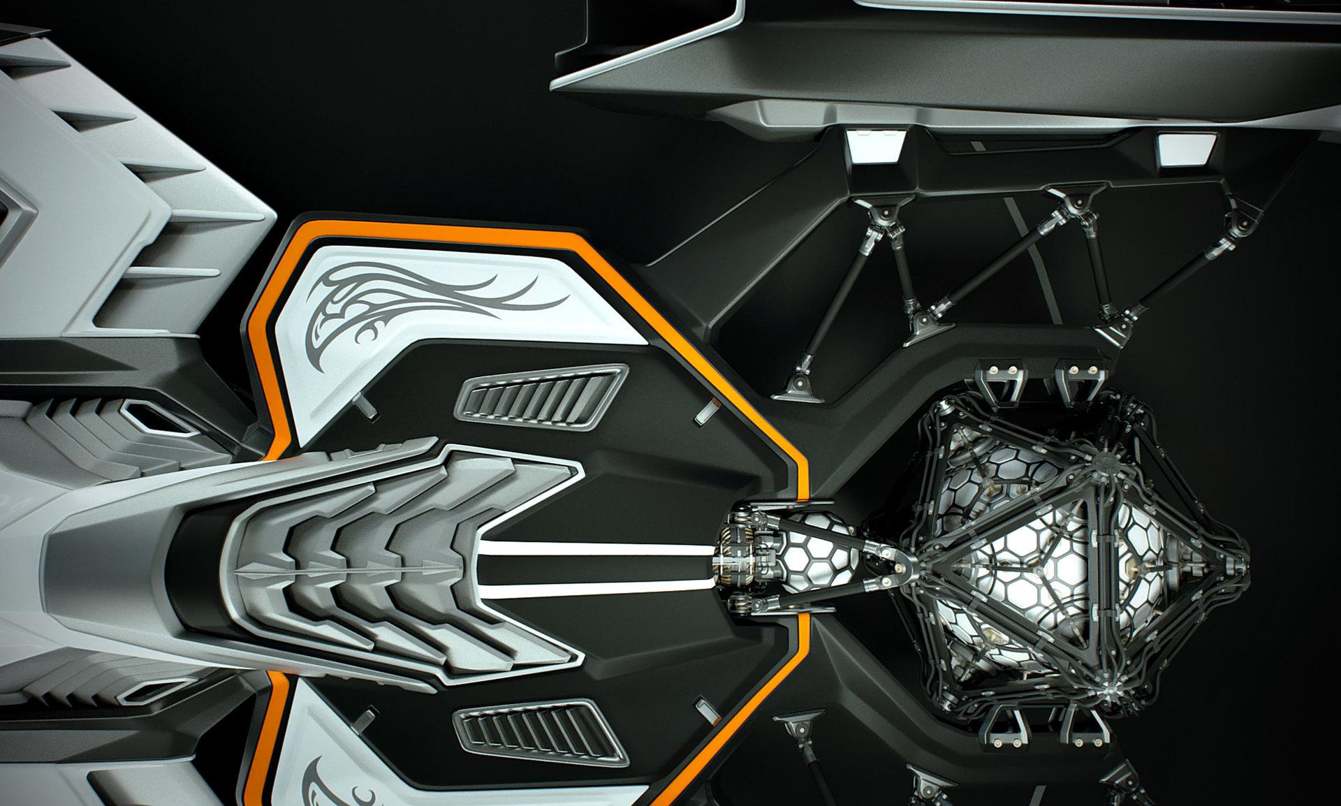 Johan de leenheer 3d spaceship faucer fuga mx230e 14