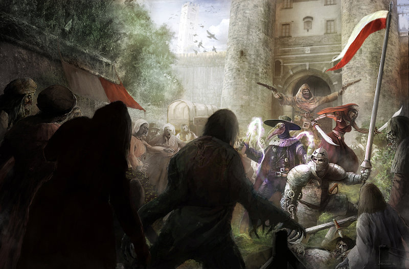 Sebastien ecosse ultima forsan by sebastien ecosse illustration cover zombie role playing game savage worlds