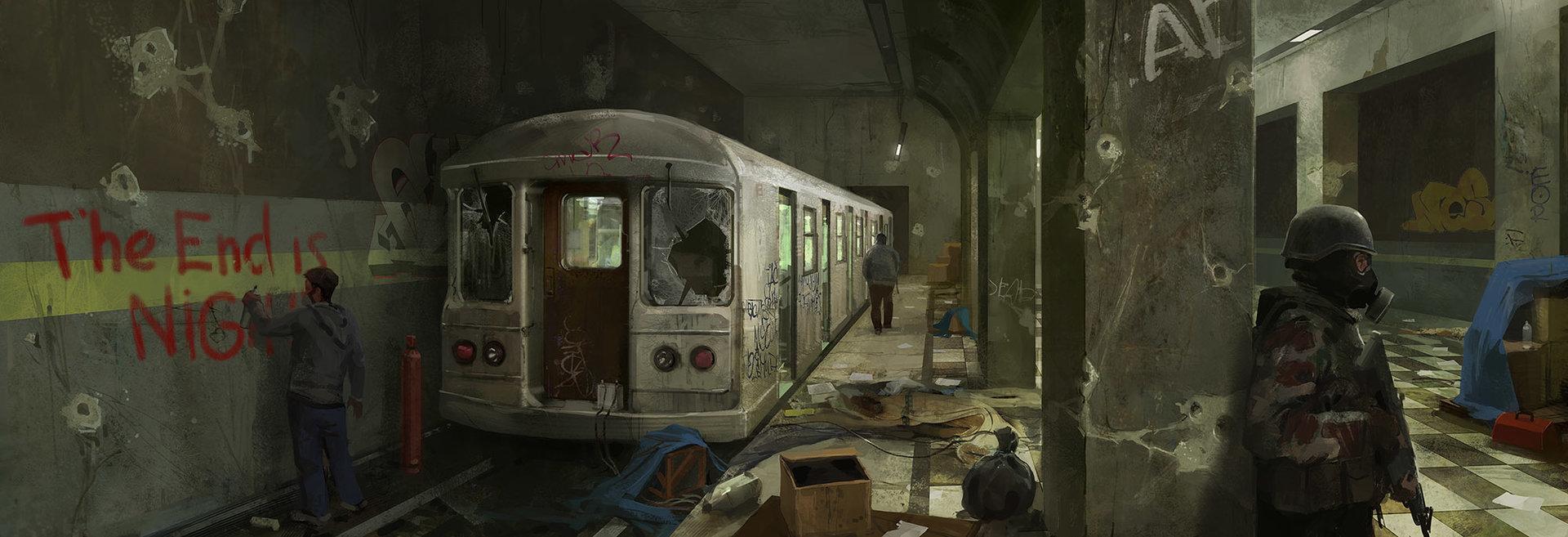 Alexander chelyshev subway station s
