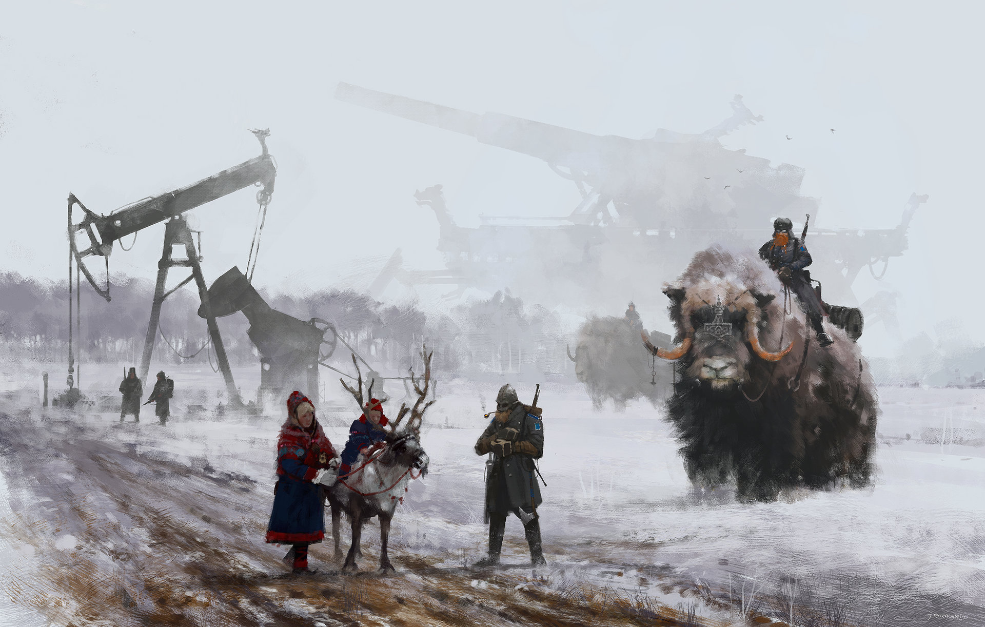 Jakub rozalski 1920 dad s at work small1