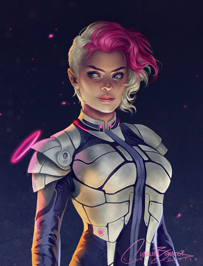 Character Design Major : Artstation low gravity charlie bowater