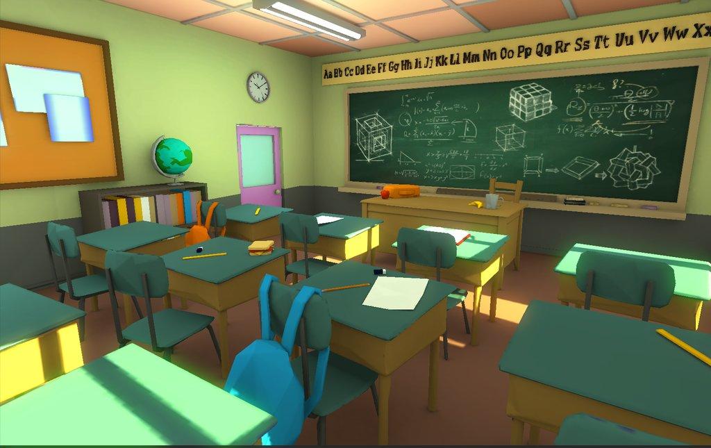 Eddie faria low poly classroom 3 by akasha1x d8oxjs5