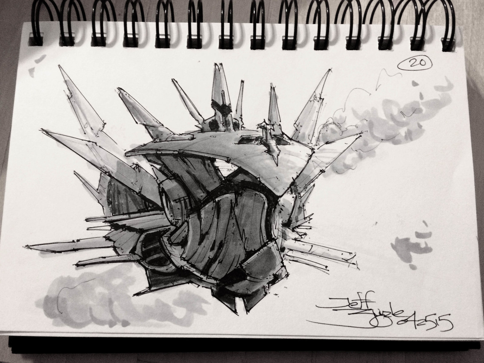SpaceshipADay 020