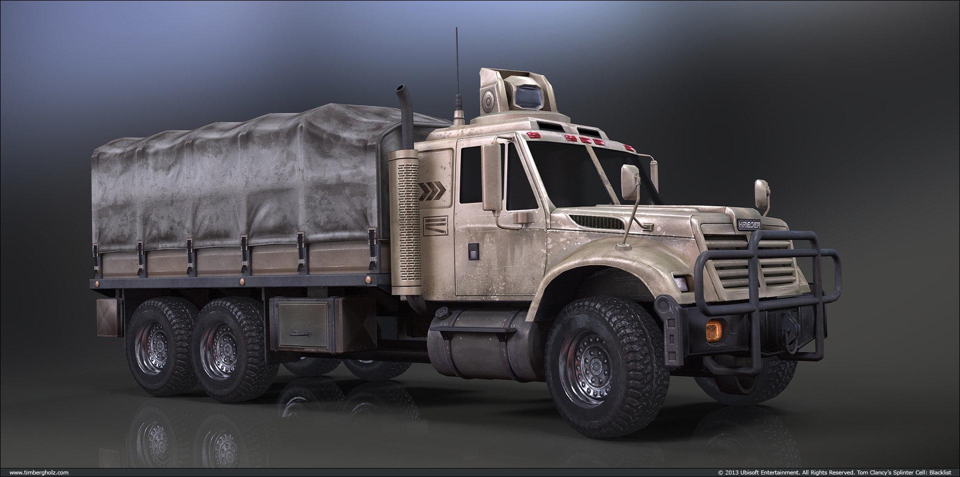 Tim bergholz cargo truck