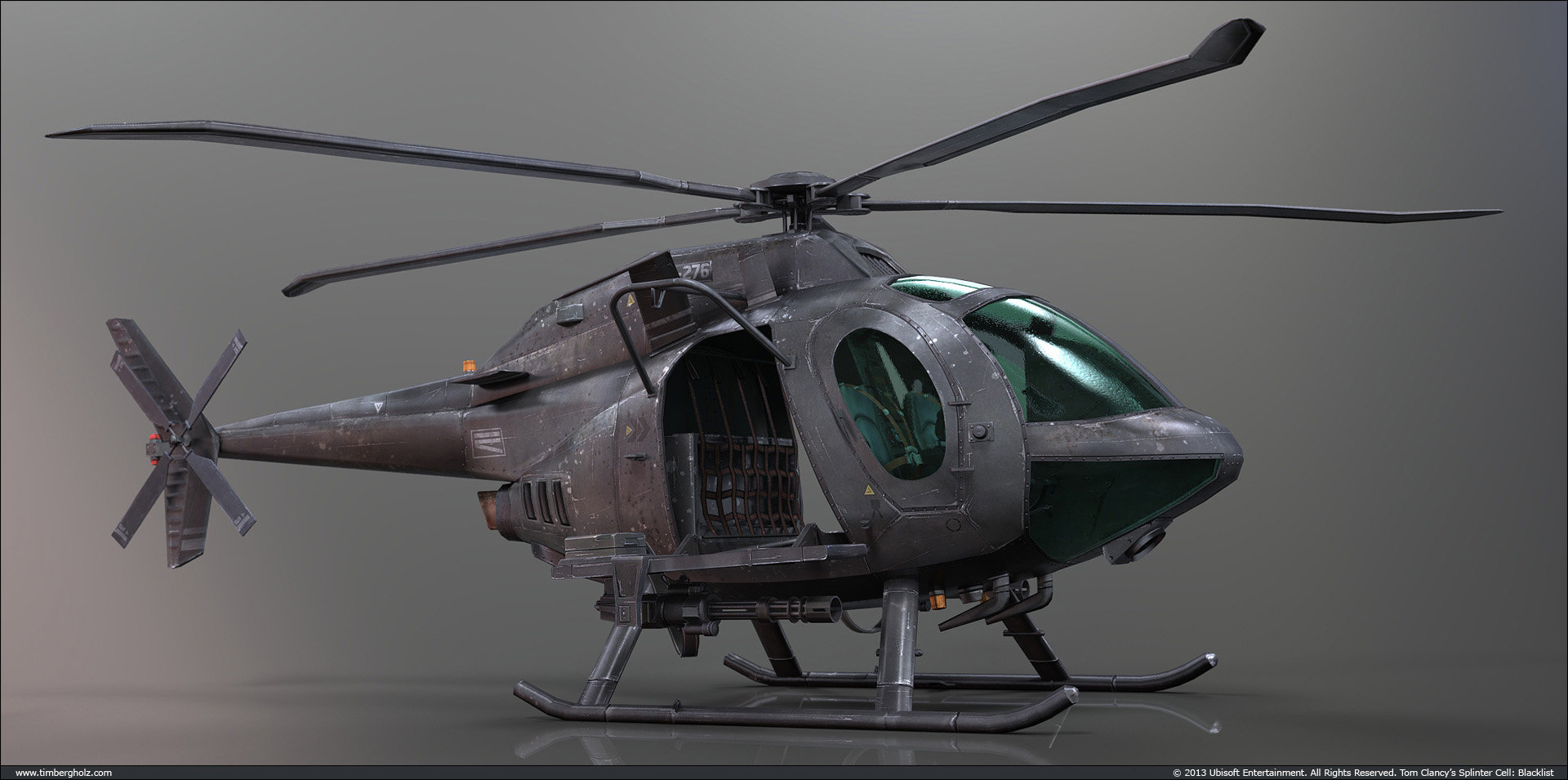 Tim bergholz observation helicopter