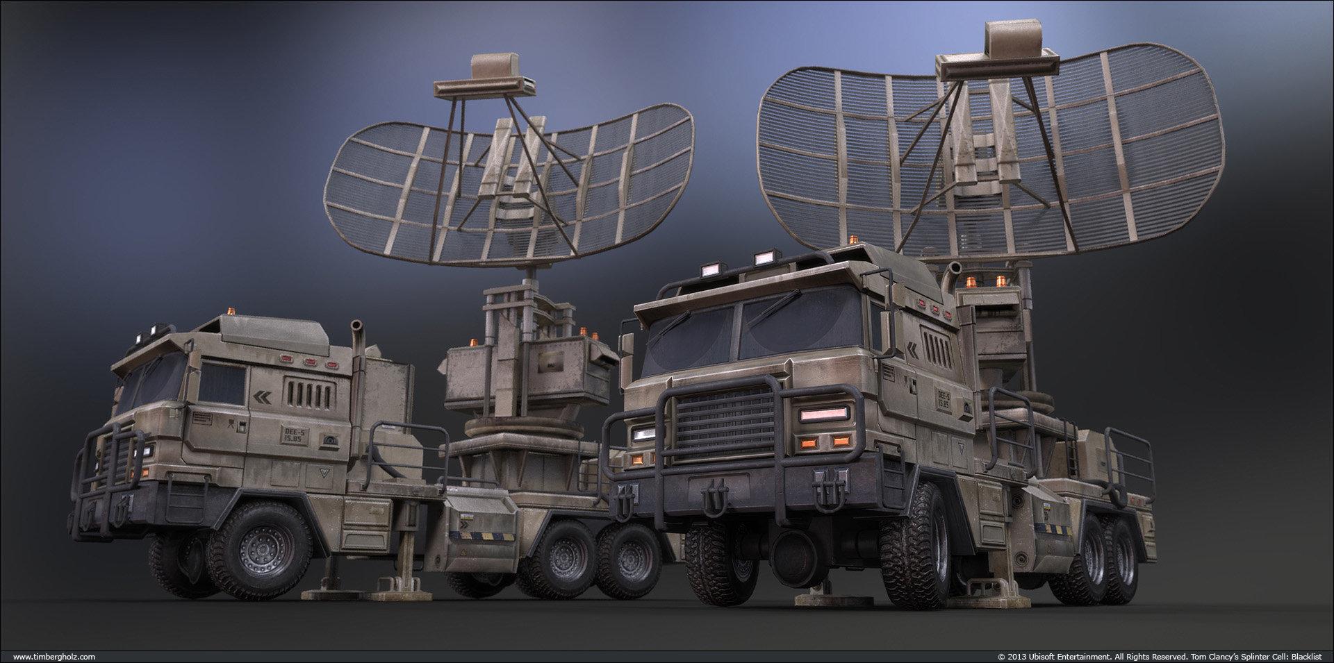 Tim bergholz radar trucks